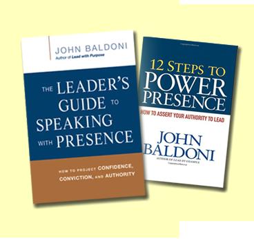 12 steps to power presence baldoni john